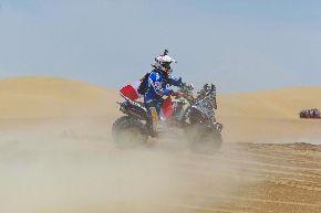 Flores fue el mejor peruano del Dakar 2013. ANDINA/Jack Ramón