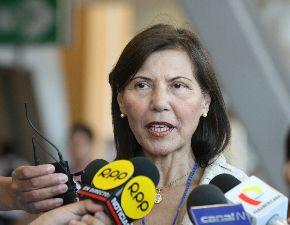 Virginia Baffigo, presidenta de EsSalud. Foto: ANDINA/Vidal Tarqui