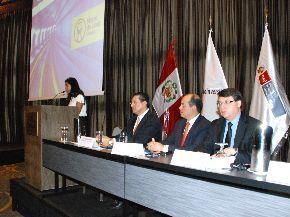 ProInversión realiza primer foro informativo de la Línea 2 del Metro de Lima. Foto: ProInversión.