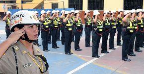 Policía femenina se incorporó al Departamento de Tránsito Zona Este. Foto: ANDINA/Difusión