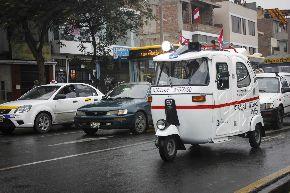 También en mototaxi se luchará contra la delincuencia en el distrito de Surco. Foto: Andina/Difusión