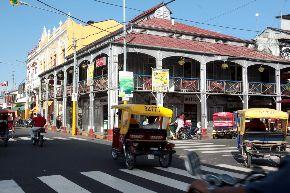 Con el tranvía mejorará el tránsito en  Iquitos, en la actualidad atiborrada por mototaxis y motos lineales, resalta presidente regional de Loreto..
