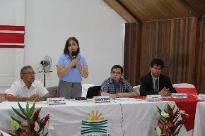 La ministra de Salud, Midori de Habich, inauguró reunión de la Comisión Intergubernamental de Salud que se desarrolla en la ciudad de Pucallpa.