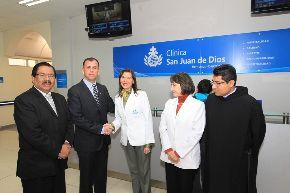 Más de 100 mil asegurados de EsSalud serán atendidos en Clínica San Juan de Dios. Foto: ANDINA/EsSalud