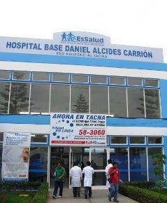 La operación quirúrgica se realizó en el hospital Daniel Alcides Carrión, de EsSalud, en la ciudad de Tacna.