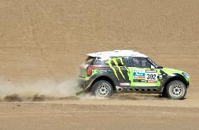 Dakar 2013 entra hoy en receso para que pilotos y equipos descansen. Foto: ANDINA/Archivo.