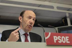 El secretario general del PSOE, Alfredo Pérez Rubalcaba. Foto: Europa Press