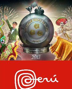 Cartel inspirado en la diablada puneña que se lucirá hoy en el carnaval de Sao Paulo.