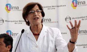 Alcaldesa de Lima, Susana Villarán. Foto: Facebook.