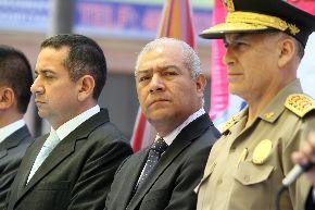El ministro del Interior, Wilfredo Pedraza, acude al Congreso para sustentar propuesta. Foto: ANDINA/Marco del Río.
