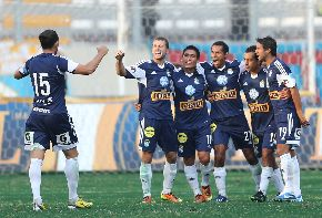 Lima-based club Sporting Cristal. Photo: ANDINA/Marco del Río