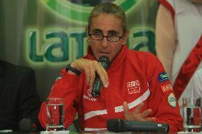 Natalia Málaga en anterior conferencia de prensa.