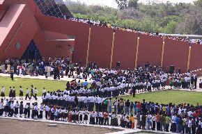 Miles de personas visitan las Tumbas Reales de Sipán en Lambayeque. Foto: ANDINA/Difusión.