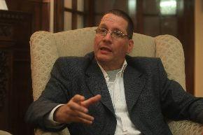 Parlamentario venezolano Jesús Faría. Foto: ANDINA/Juan Carlos Guzmán.