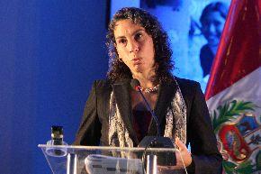 Exministra de Desarrollo e Inclusión Social Carolina Trivelli. Foto: ANDINA/Héctor Vinces.