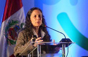 Patricia Salas, ministra de Educación. Foto: ANDINA/Archivo.