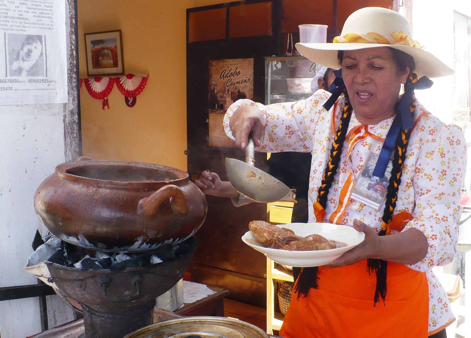La gastronomía del Valle del Colca concitó el interés de los concurrentes al FestiColca que se desarrolló en Arequipa. ANDINA/Archivo