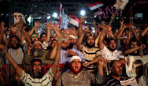 """El ambiente tenso en Egipto amenaza con empeorar en un """"Viernes de ira""""."""