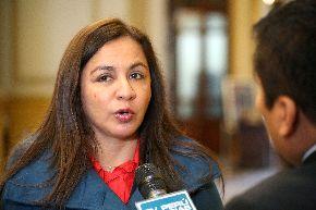 Vicepresidenta Marisol Espinoza. Foto: CDR