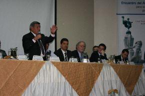 El alcalde de Trujillo, César Acuña, anunció que en setiembre se realizará la sesión extraordinaria del concejo municipal para ver el pedido de vacancia.