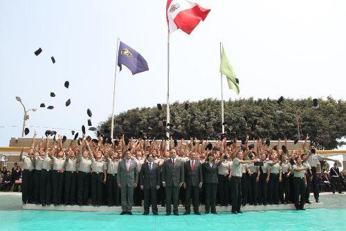 Agentes penitenciarios. Foto: ANDINA/Difusión.