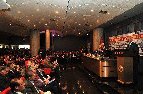 Ministro del Interior inaugura taller de capacitación a autoridades locales y regionales para acceder a recursos del Foniprel en materia de seguridad ciudadana. ANDINA/Vidal Tarqui