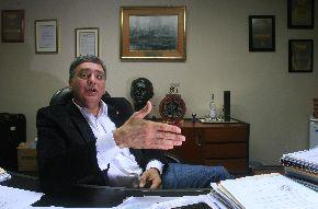 El presidente del Comité Olímpico Peruano (COP), José Quiñones. ANDINA/Juan Carlos Guzmán
