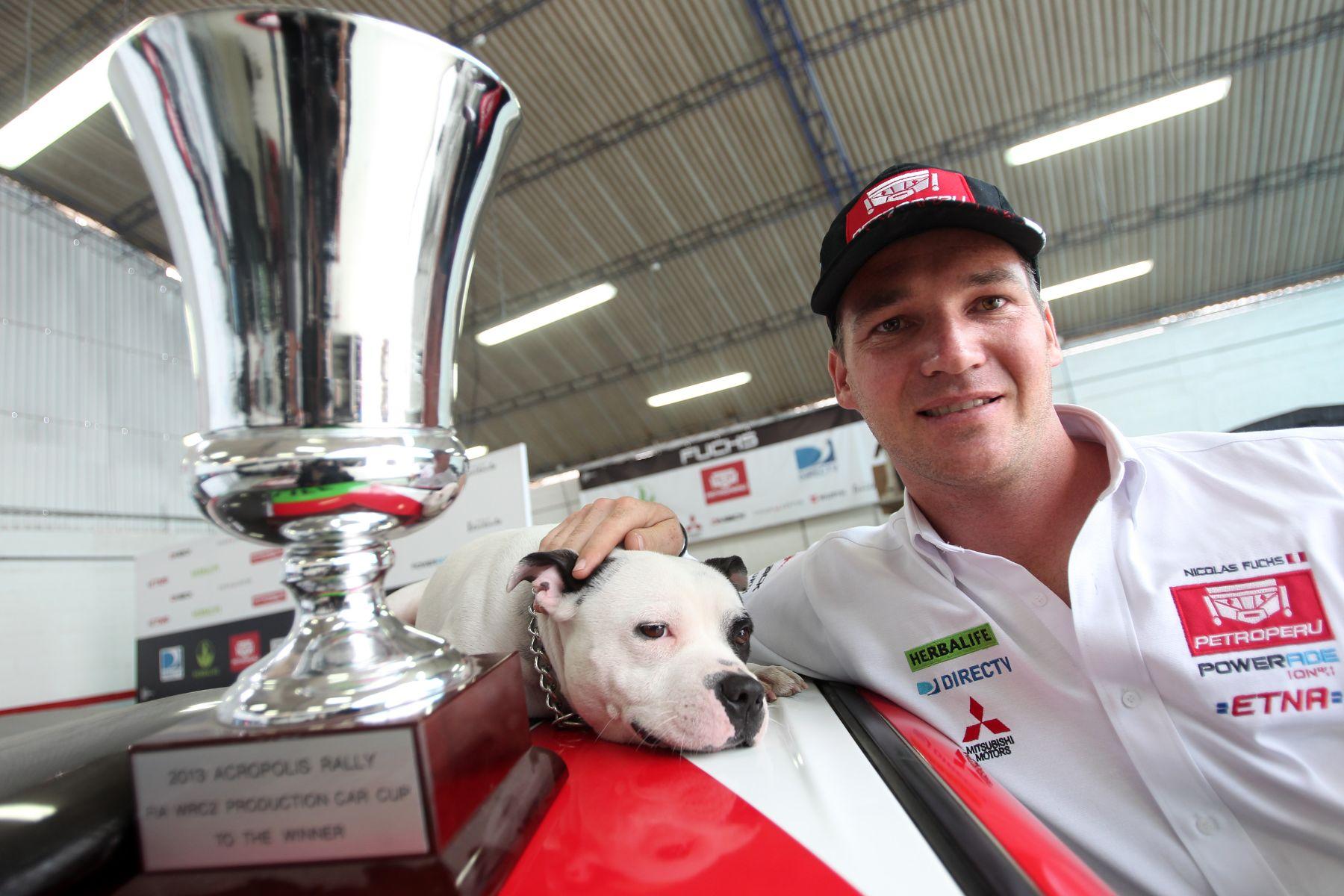 Nicolás Fuchs apunta al título mundial de rally WRC 2