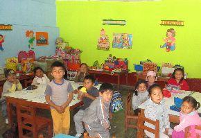 Qali Warma atiende a cerca de 900 alumnos de provincia limeña de Yauyos.ANDINA /Difusión