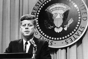 John F. Kennedy es el presidente número 35 de los Estados Unidos.