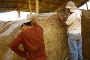 Investigadores del Museo Tumbas Reales del Señor de Sipán hallan el último templo mochica en el distrito chiclayano de Pucalá.