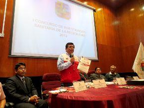 Presentaron primera revista científica sanitaria de Región Lima.