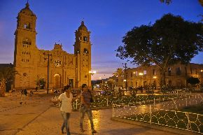 Main square of Tacna. Photos:ANDINA/Oscar Farje.