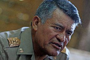General de división Leonel Benigno Cabrera Pino, jefe del Comando Conjunto de la Fuerzas Armadas. Foto: ANDINA/Marco del Río
