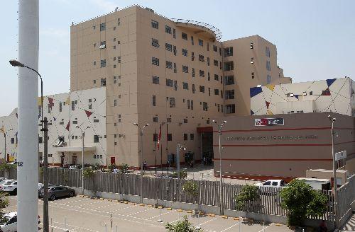 Sede del Instituto Nacional de Salud del Niño en San Borja. ANDINA/Vidal Tarqui