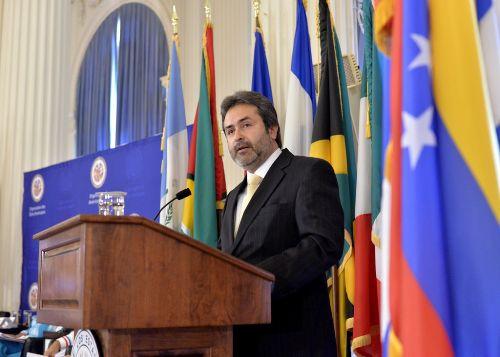 Representante peruano ante la Organización de Estados Americanos (OEA), Juan Jiménez Mayor. ANDINA/Difusión