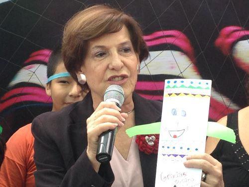 Candidata a la alcaldía de Lima, Susana Villarán. Foto: ANDINA/Difusión.