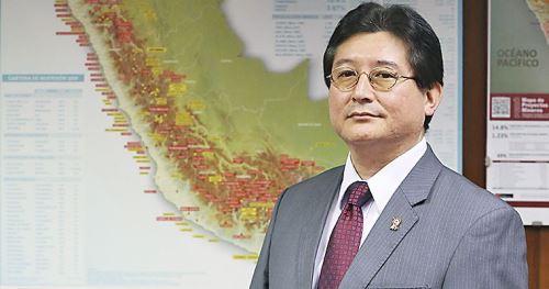 Viceministro de Minas, Guillermo Shinno. ANDINA