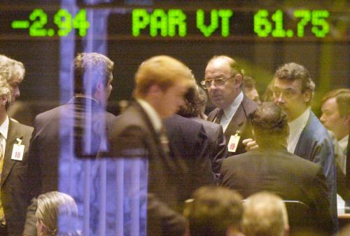 Bolsas de Valores. Foto: AFP