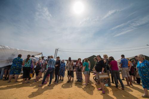 Acnur: 415,800 personas abandonaron sus hogares en el este de Ucrania. Foto: AFP.