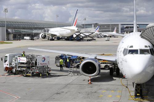 Ébola: personal navegante de Air France rechaza volar a países afectados. Foto: AFP.