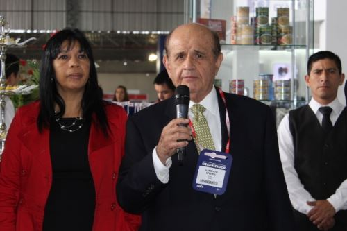 Presidente del Comité de Pesca y Acuicultura de Adex, Humberto Speziani.