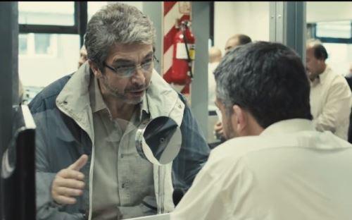 Ricardo Darín en una escena de la película Relatos salvajes