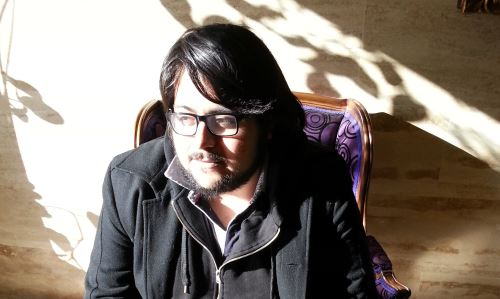 Escritor chileno Diego Zúñiga