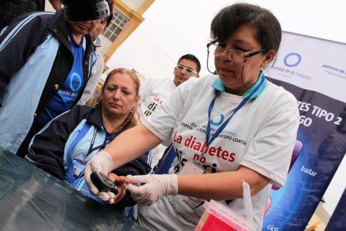 Más de 65,000 nuevos casos de diabetes en Perú se registran en el 2014. Foto: ANDINA/Difusión.