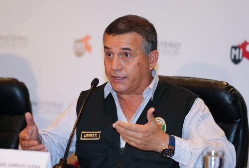 Ministro del Interior, Daniel Urresti. Foto: ANDINA/Norman Córdova.