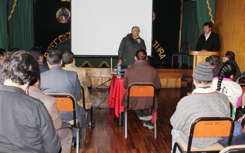 Viceministro de Políticas Agrarias del Minagri, César Sotomayor, se reunió con representantes de las organizaciones sociales de La Convención, Cusco.