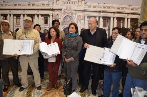 Piden que no se deje sin recursos a parques zonales. Foto: Andina/Difusión