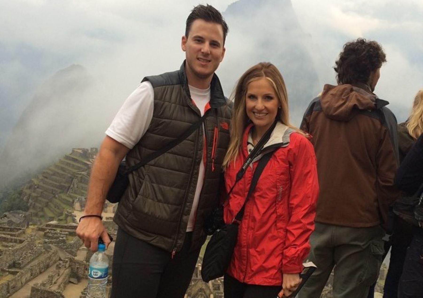 La periodista estadounidense Katherine Whaley, presentadora de KHOU TV, en Houston, Texas, visitó diversos atractivos turísticos del Perú.