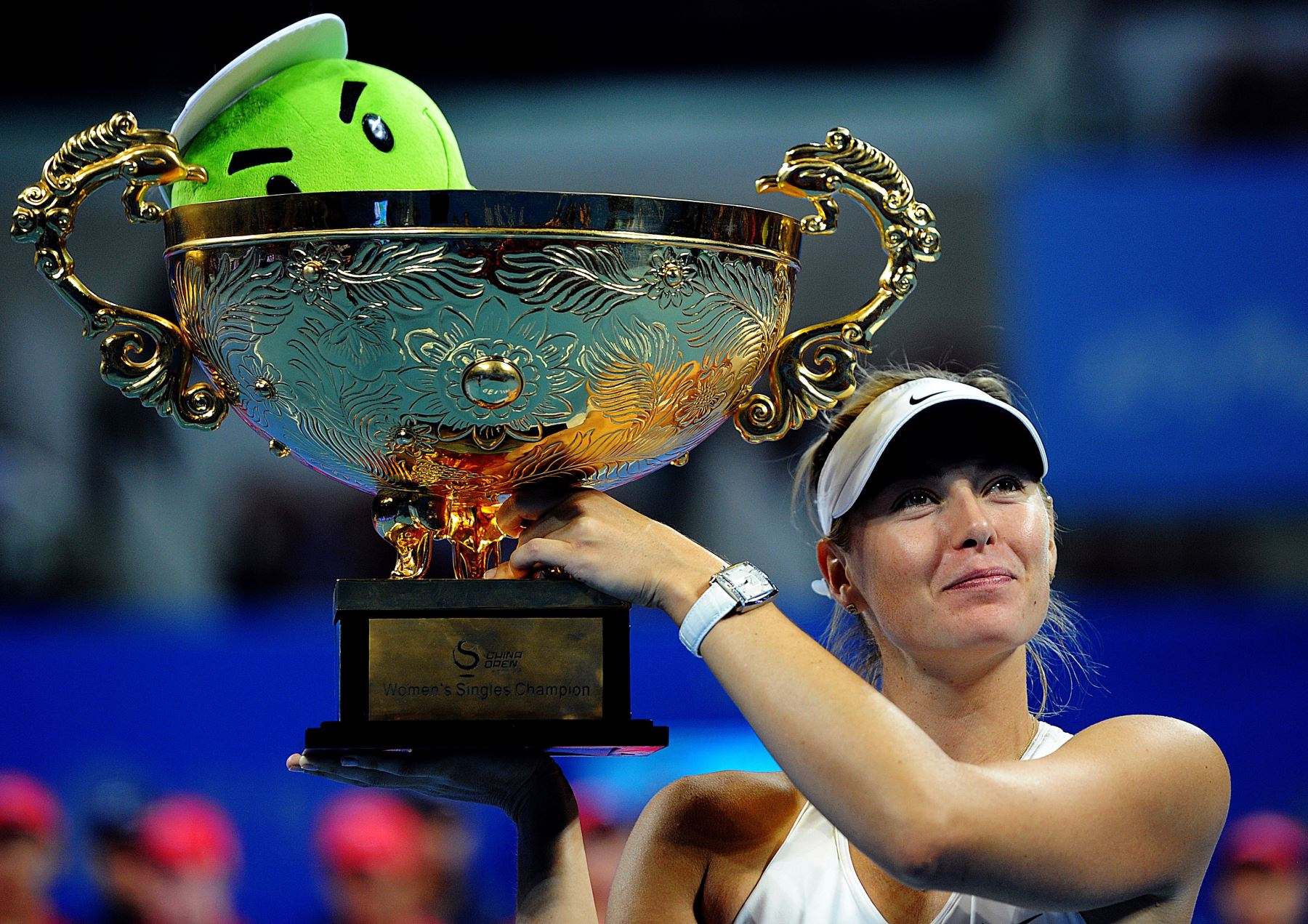Sharapova consigue su cuarto título de la temporada